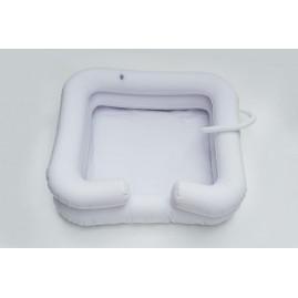 Nadmuchiwany basen do mycia głowy - pielęgnacja chorego
