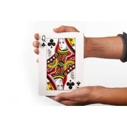 Bardzo duże karty do gry dla seniora