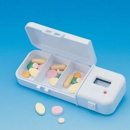 Elektroniczny organizer do tabletek - kasetka na leki z alarmem