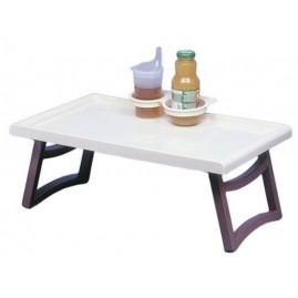 Stolik łóżkowy do posiłków z uchwytami