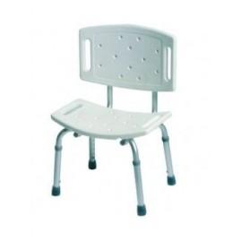 Krzesło rehabilitacyjne prysznicowe z oparciem