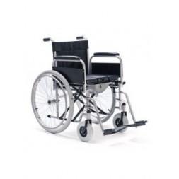 Wózek inwalidzki z funkcją toalety