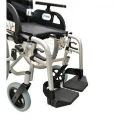 Wózek inwalidzki ręczny standardowy, stalowy, na szybkozłączach