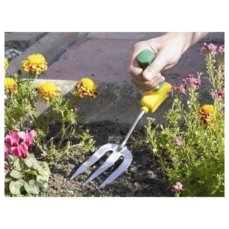 Widelec ogrodniczy z ergonomicznym uchwytem dla niepełnosprawnych