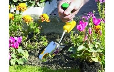 Kielnia ogrodnicza z ergonomicznym uchwytem dla niepełnosprawnych