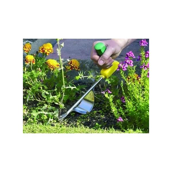 Odchwaszczacz ogrodniczy z ergonomicznym uchwytem dla niepełnosprawnych