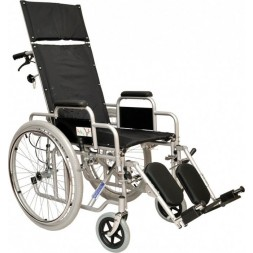 Wózek dla niepełnosprawnych stabilizujący plecy