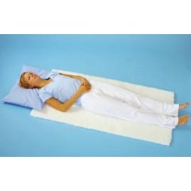 Podkład antyodleżynowy z runem ze sztucznego włókna do łóżka 70x140cm