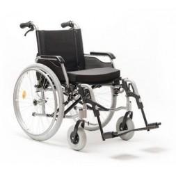 Wózek inwalidzki ręczny aluminiowy