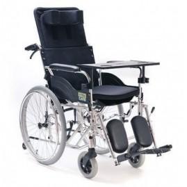 Wózek inwalidzki specjalny, stabilizujący plecy i głowę