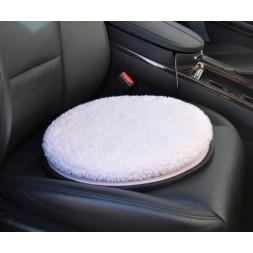 Poduszka obrotowa z miękką poszewką do auta