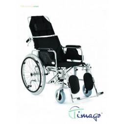 Wózek inwalidzki aluminiowy