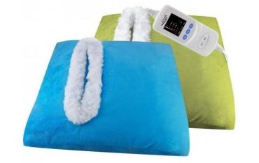 Poduszka elektryczna z otworem na dłonie i stopy