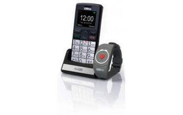Telefon komórkowy dla osoby starszej MaxCom 715BB z bransoletką SOS