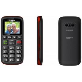 Prosty telefon komórkowy dla seniorów Maxcom MM428 BB