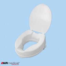 Wysoka nasadka toaletowa z klapą - wysokość 15 cm Armedical