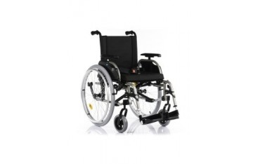 Platinum wózek inwalidzki wykonany ze stopów lekkich