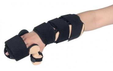 Szyna na dłoń i przedramię z ujęciem kciuka - Whosp FT