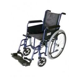 Wózek inwalidzki ręczny - standardowy, stalowy NEW CLASSIC