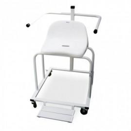 Krzesło jezdne prysznicowe