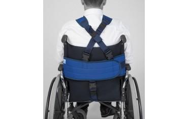Kaftan unieruchamiający 5-punktowy do wózka inwalidzkiego