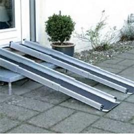 Rampy teleskopowe dla wózków inwalidzkich - różne rozmiary