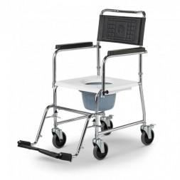 Wózek toaletowy dla osób o wadze do 200 kg