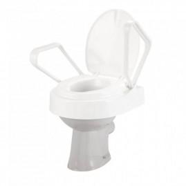 Nakładka toaletowa z odchylanymi poręczami