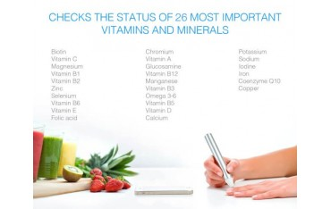 Vitastiq 2 - urządzenie do pomiaru poziomu witamin i minerałów w organiźmie