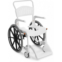 Clean wózek toaletowo-prysznicowy na dużych kołach ETAC