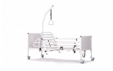 Standardowe łóżko manualne na sprężynie