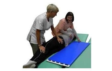 Przenośnik taśmowo - rolkowy do przesuwania pacjenta 1100 x 485 mm