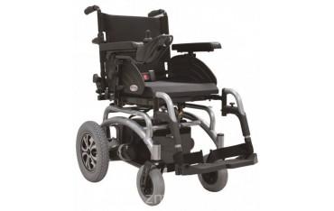 Wózek z napędem elektrycznym na sztywnej ramie z regulacją siedzenia