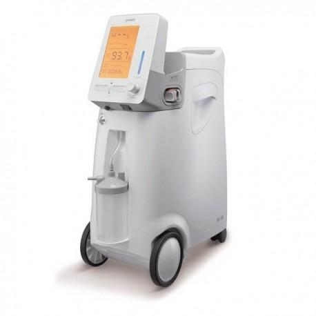Koncentrator tlenu z czujnikiem stężenia, nebulizatorem i monitorem poziomu satu