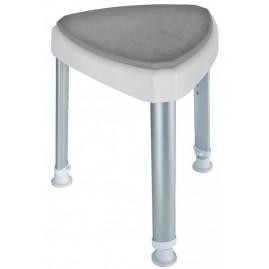 Stołek prysznicowy inwalidzki z miękkim siedziskiem