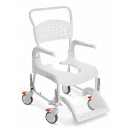 Wózek toaletowo-prysznicowy z regulacją wysokości Etac Clean
