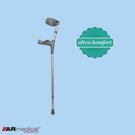 Kula łokciowa z ruchomą obejmą - ergonomiczny uchwyt AR-025