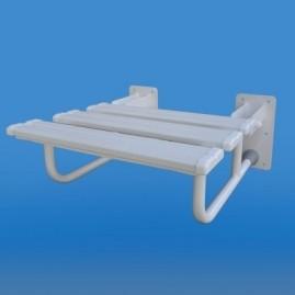 Krzesełko prysznicowe uchylne - malowane proszkowo