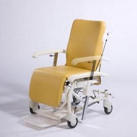 Wózek geriatryczno pielęgnacyjny z zagłówkiem Alesia