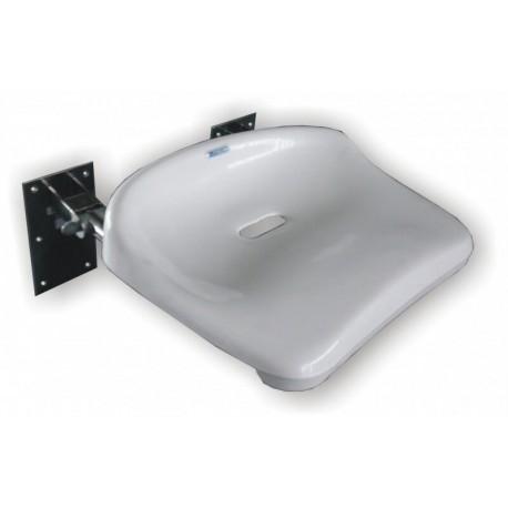 Siodełko prysznicowe SPU uchylne ze stali nierdzewnej 120 KG
