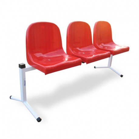 Siedziska rzędowe z oparciem VEGA 3