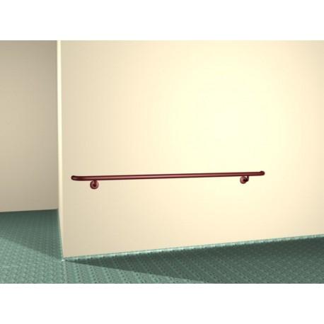 Poręcze odbojowe ścienne szpitalne 35 mm malowane proszkowo.