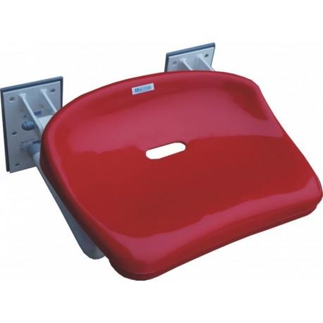 Siodełko prysznicowe uchylne Spu - 200 kg Red