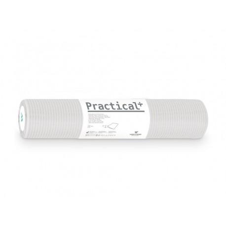 Podkład podfoliowany Practical + 50cmx50mb biały (perforacja co 50cm)