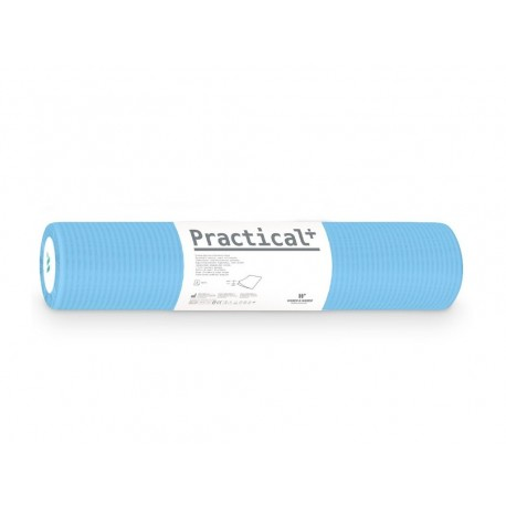 Podkład podfoliowany Practical + 60cmx50mb niebieski (perforacja co 50cm)