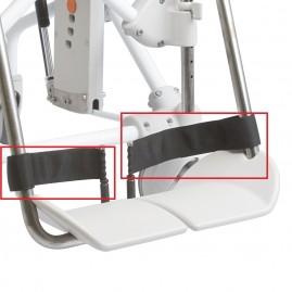 Etac Heel straps - paski podnóżka zabezpieczające stopę (para)