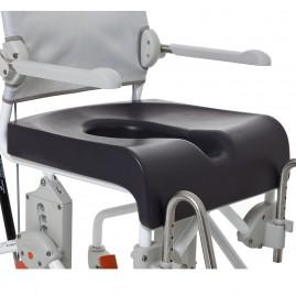 Etac comfort seat - miękka nakładka na siedzisko z otworem 18 cm do wózków Swift Mobile