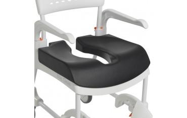 Etac Comfort seat soft - miękka nakładka na siedzisko z otworem 15 cm lub 18cm do wózków Clean