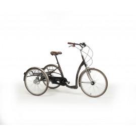 Rower rehabilitacyjny trójkołowy dla dorosłych w stylu RETRO
