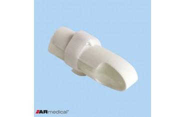 Stabilizator palca – szyna prosta z taśmą dociągającą